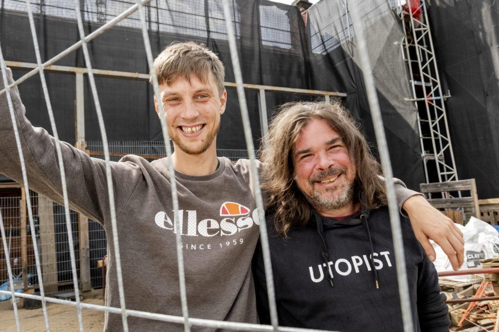 Portrait von Alexander Netterdon und Niklas Brandau